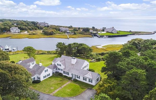 most perfect waterfront property in harwich luxury real estate