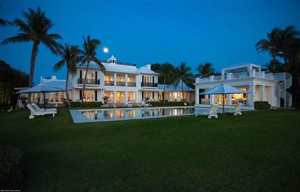 Luxury homes incredible private estate on Hypoluxo Island
