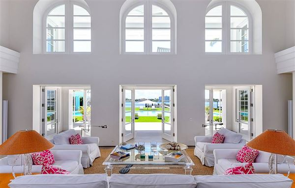 Luxury homes in incredible private estate on Hypoluxo Island