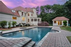 incredible home includes a jacuzzi, patio, deck, and cabana luxury real estate