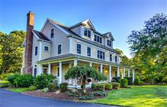 stately custom built Colonial luxury homes