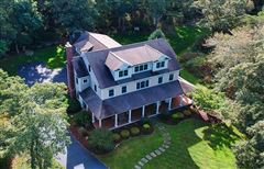 Luxury real estate stately custom built Colonial