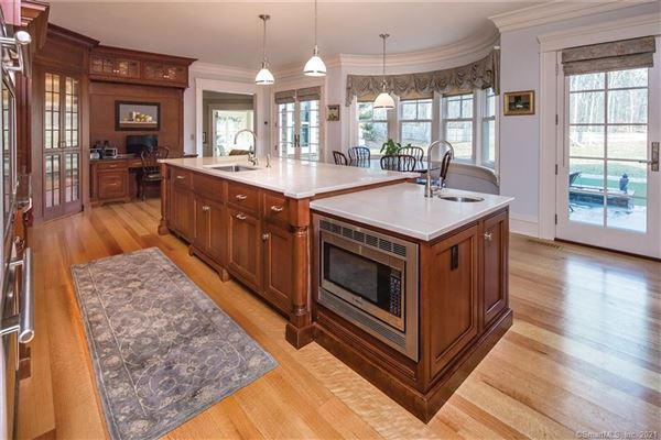 Luxury properties  timeless Nantucket Style home