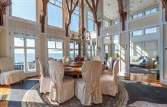 Luxury homes in breathtaking beachfront property