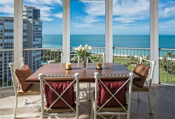 One of the most coveted units in Aria luxury homes