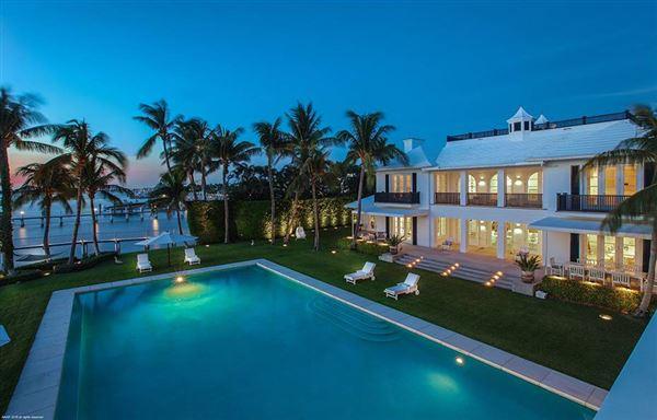 Hypoluxo Island private luxury estate luxury homes