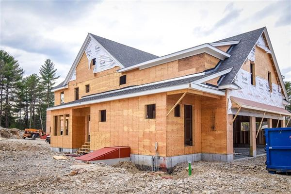 new home in exclusive South Meadow mansions