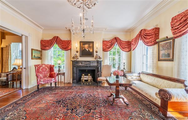 Luxury homes in historically significant home
