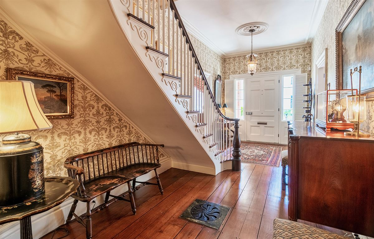 Luxury homes in Historic Starbuck Mansion