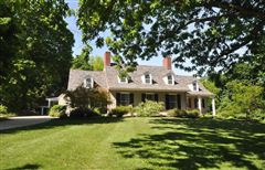 Luxury real estate Exceptional Grand Queen Anne Cape in Historic Westford