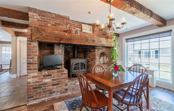Exceptional Grand Queen Anne Cape in Historic Westford luxury homes