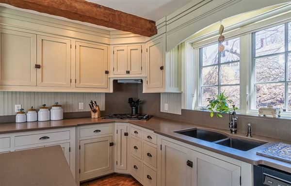 Exceptional Grand Queen Anne Cape in Historic Westford luxury real estate