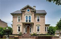 one of a kind Italianate Revival Mansion luxury real estate