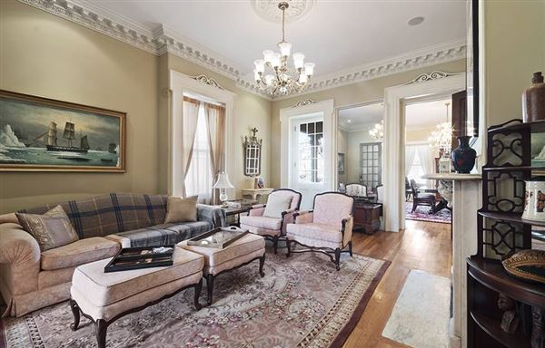 one of a kind Italianate Revival Mansion luxury homes