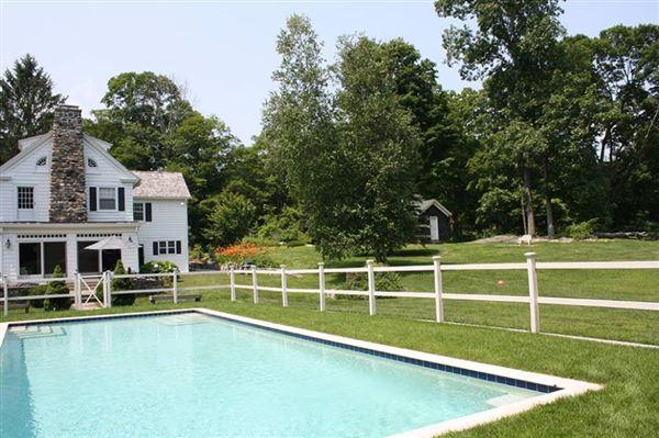 turn of the century colonial on four acres mansions
