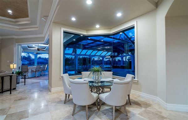 luxury estate home in Miromar Lakes mansions