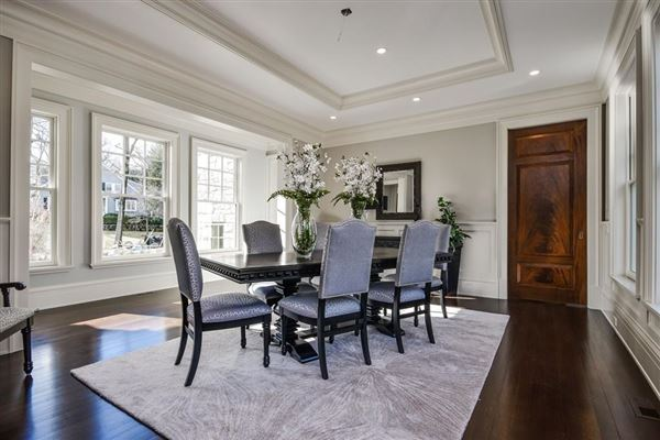 Luxury real estate outstanding new home in coveted wellesley farms