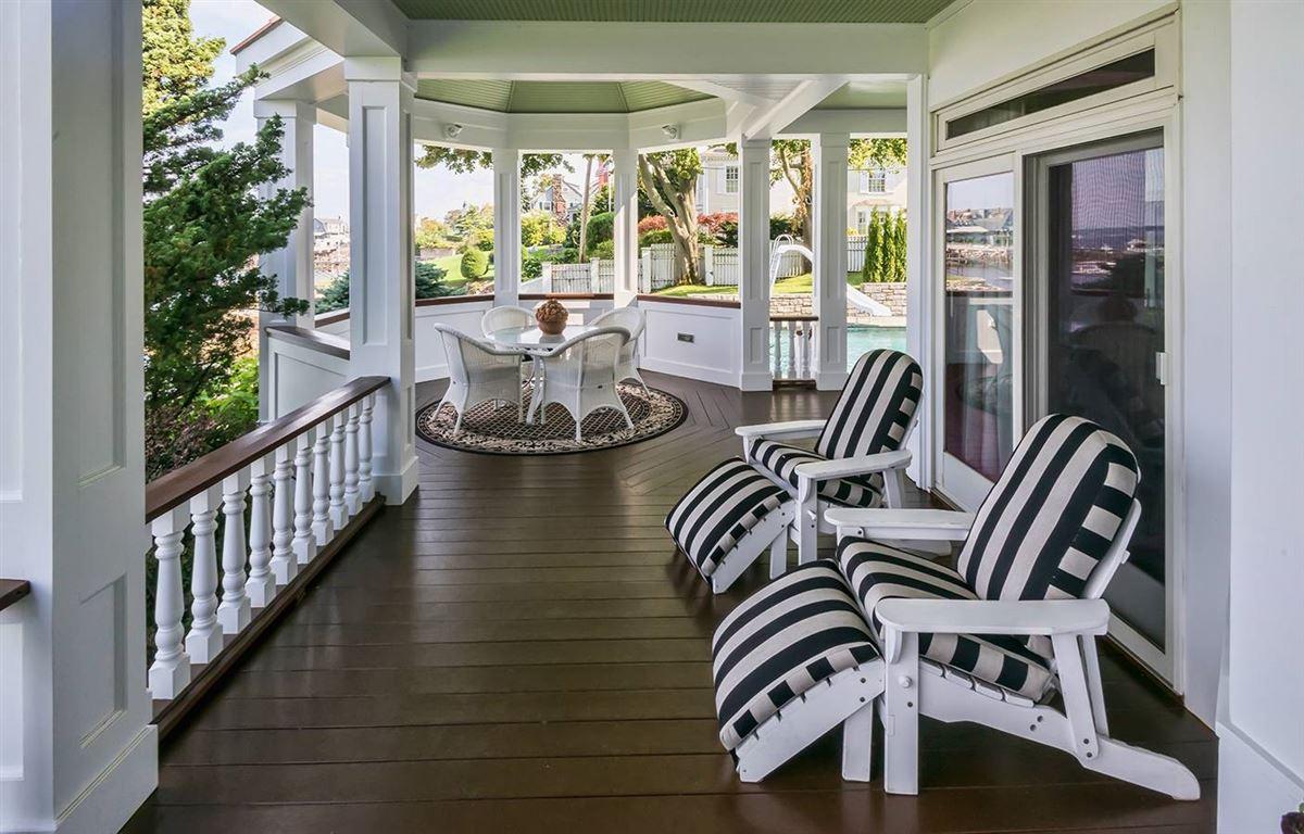 Luxury real estate magnificent harbor front estate