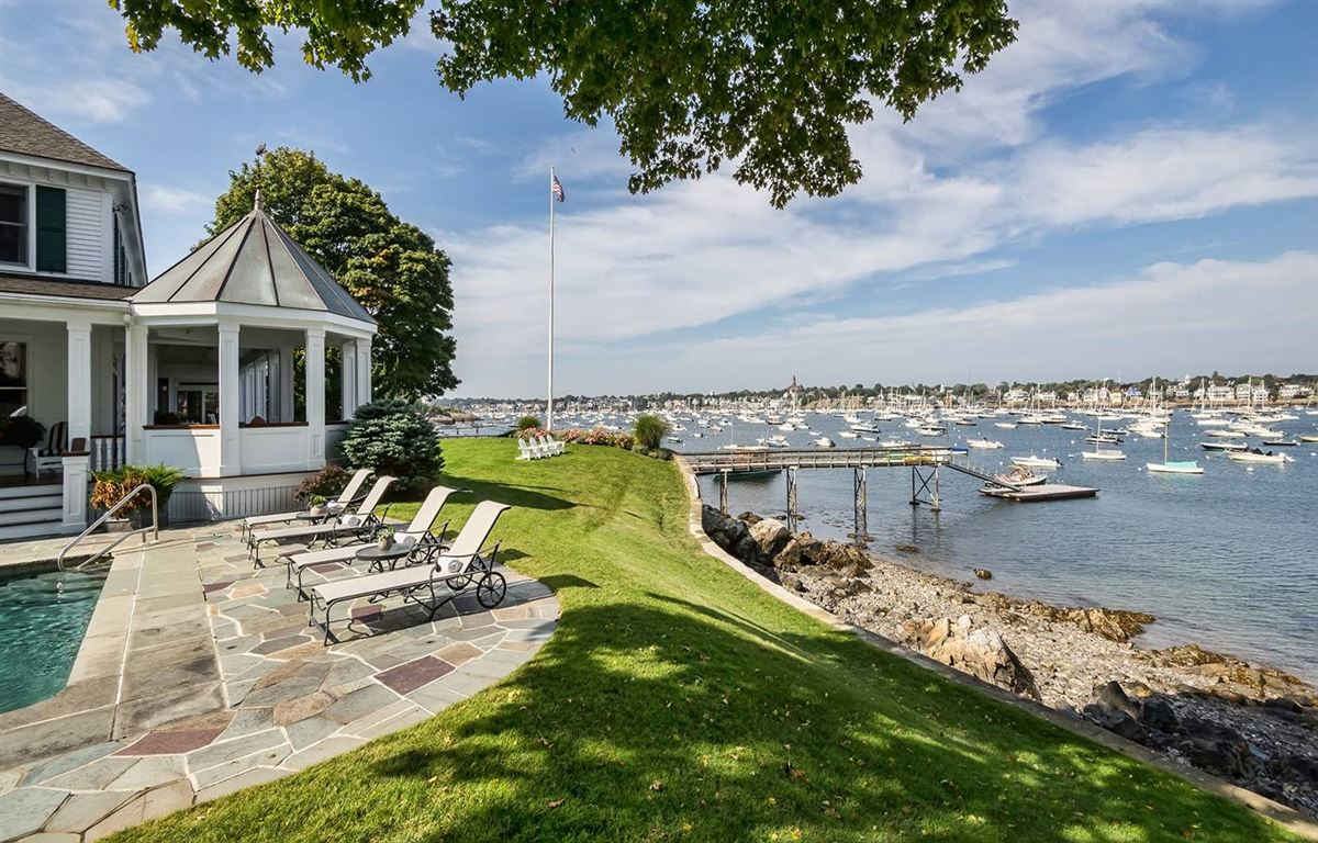 magnificent harbor front estate luxury real estate