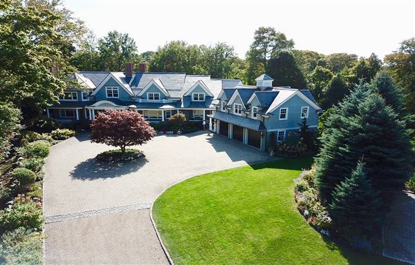 exceptional custom home on Marblehead Neck luxury homes