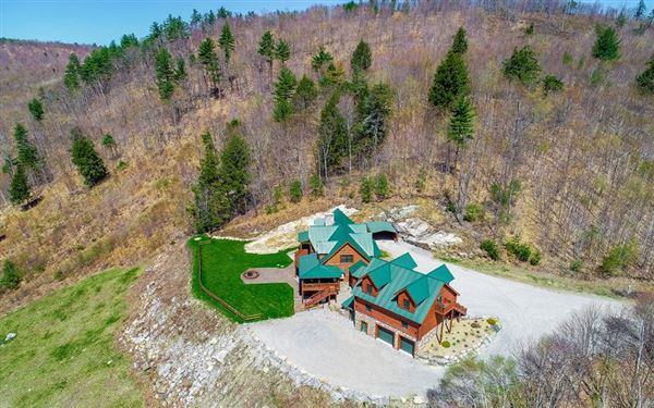 Mountainside retreat  luxury properties