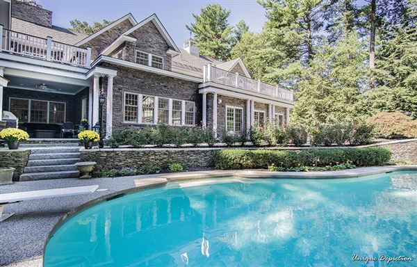 Luxury properties beautiful home in north andover