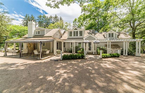 Private 24-plus acre estate luxury homes