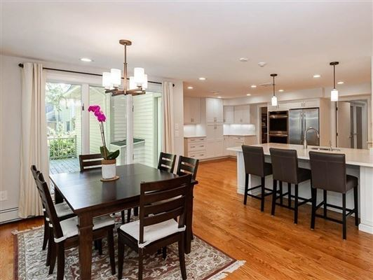 Extensively renovated contemporary Colonial  luxury real estate
