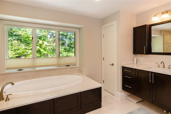 Luxury real estate Extensively renovated contemporary Colonial