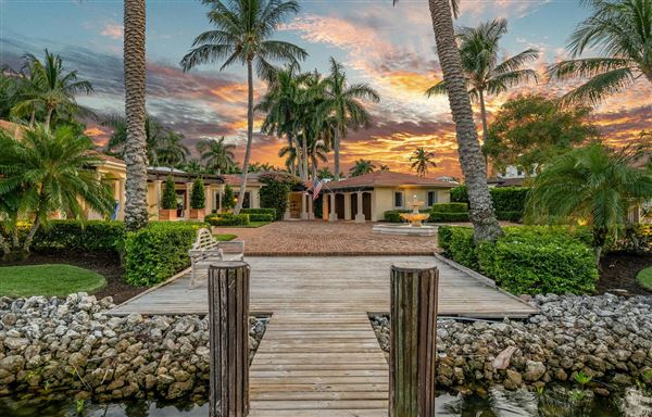 Luxury properties One Of Naples Most Coveted Waterfront Properties