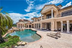 Mansions unobstructed sunset views and sail boat access to the Gulf of Mexico