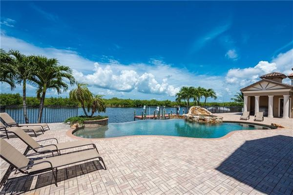 Luxury real estate unobstructed sunset views and sail boat access to the Gulf of Mexico
