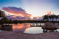 unobstructed sunset views and sail boat access to the Gulf of Mexico luxury real estate
