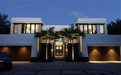 private gated ocean to Intracoastal estate luxury homes