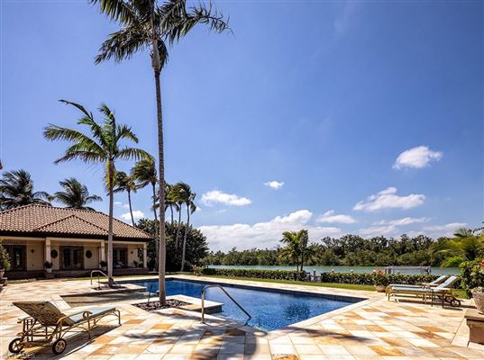 Beautiful estate spanning two Port Royal lots luxury properties