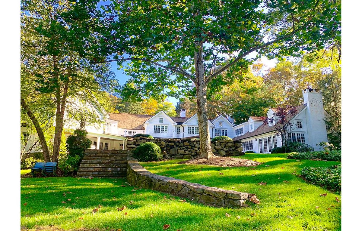 One of the largest estate properties ever offered in Westport luxury real estate