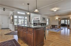 Luxury real estate Home and Barn set on 10 enchanting acres