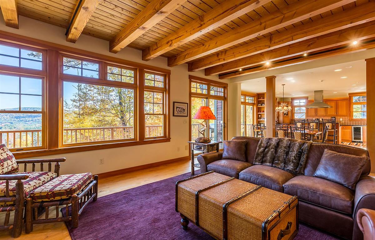 Luxury properties the ultimate slope side location on Okemo