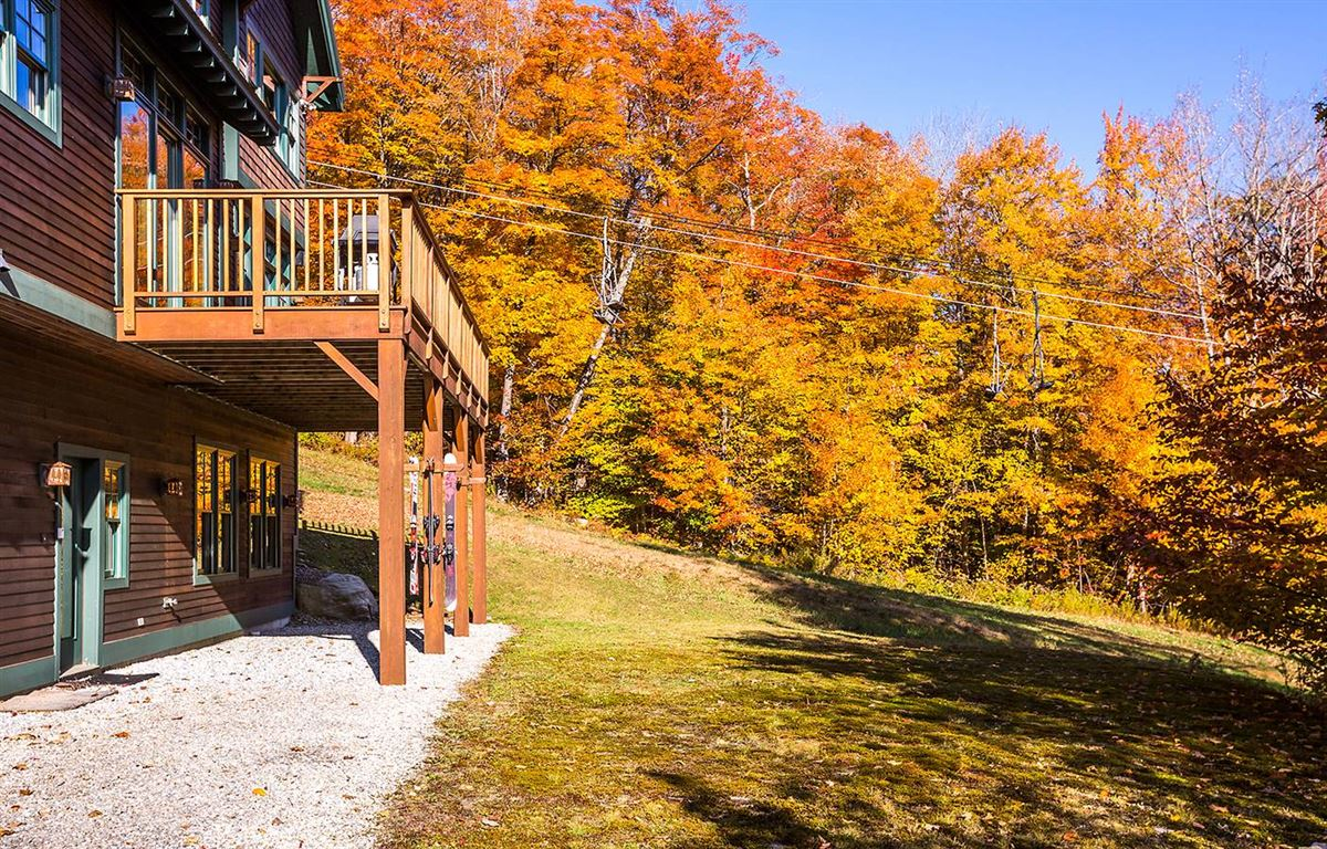 Luxury homes the ultimate slope side location on Okemo