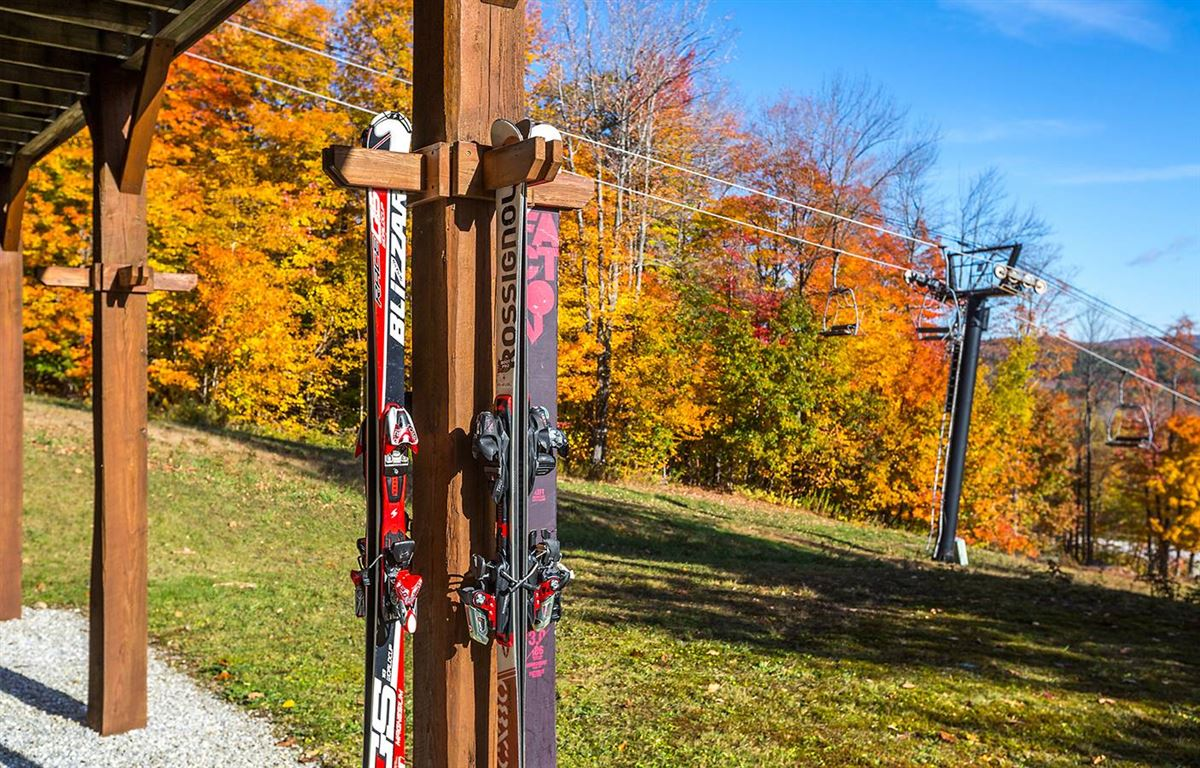 the ultimate slope side location on Okemo luxury homes