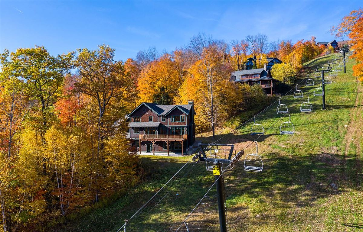 Luxury real estate the ultimate slope side location on Okemo