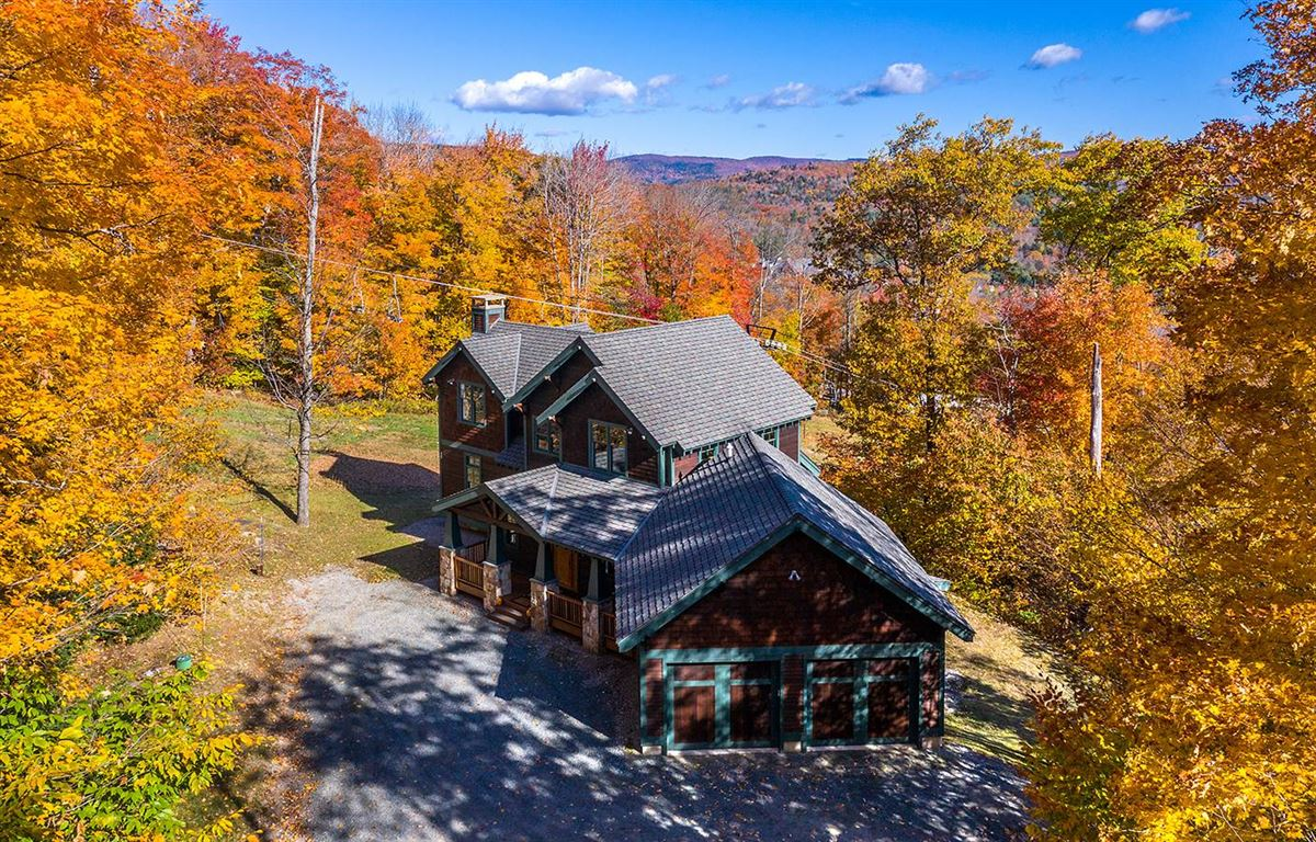 the ultimate slope side location on Okemo luxury real estate