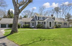 Luxury real estate Gracious rambling Cape with deeded beach rights