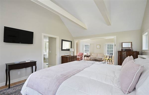 Gracious rambling Cape with deeded beach rights luxury real estate