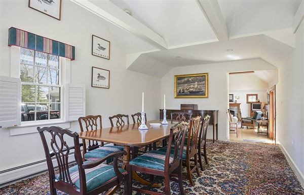 Gracious rambling Cape with deeded beach rights mansions