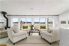 Luxury real estate  stunning waterfront home one hour north of New York City