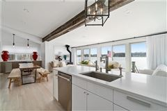 stunning waterfront home one hour north of New York City luxury real estate