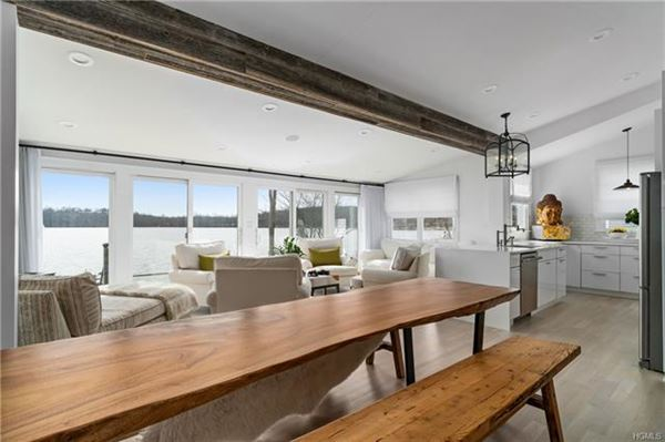 Luxury properties  stunning waterfront home one hour north of New York City