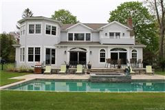 Luxury properties beautiful Niantic River waterfront home
