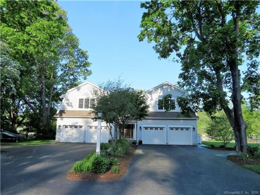 beautiful Niantic River waterfront home luxury real estate